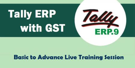 Tally ERP 9 with GST Training