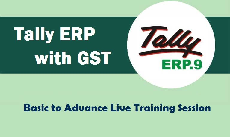 Tally ERP 9 with GST Certification Training Course in Delhi