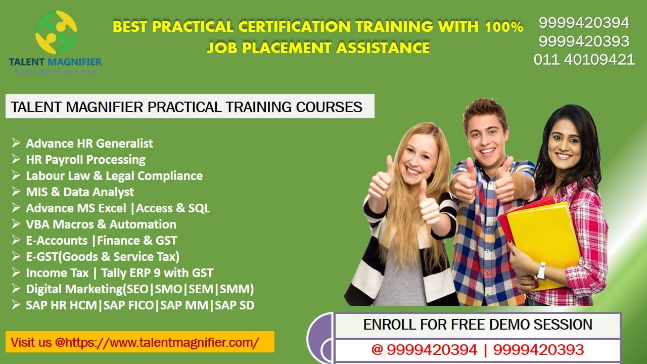 Job Oriented & Professional Certification Practical Training