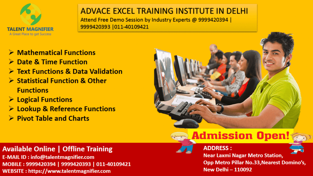 Importance Of Doing Microsoft Excel Advanced Certification Training