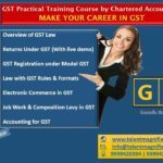 make your career in gst