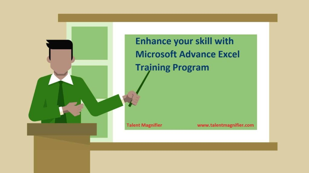 Enhance your skill with Microsoft advance excel training program
